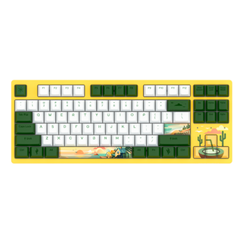Official Dareu A87 Summer Theme Mechanical Gaming Keyboard