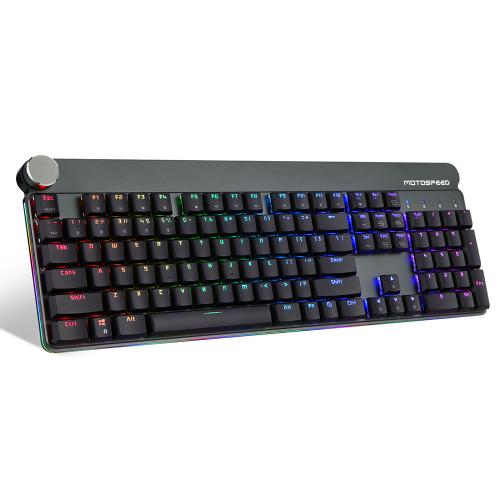 Official MOTOSPEED GK81 104Keys RGB mechanical keyboard