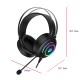 DAREU EH416 USB Gaming Headset with Microphone RGB Light 7.1 Surround Sound Noise Canceling Mic for PC Mac Laptop