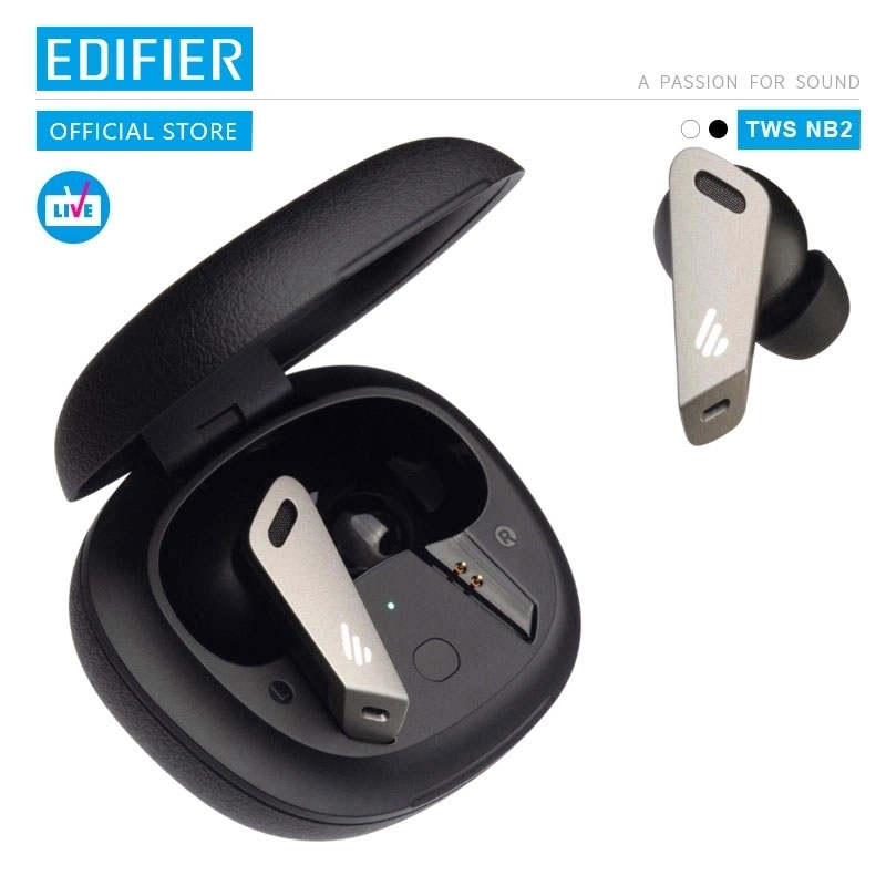 EDIFIER TWSNB2 Wireless gaming earbuds Hybrid active noise cancelling technology