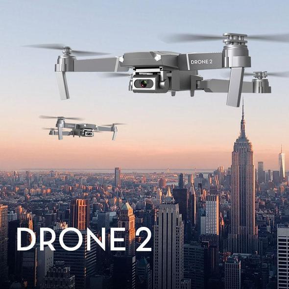 Smart Foldable RC Drone HD Camera App Control