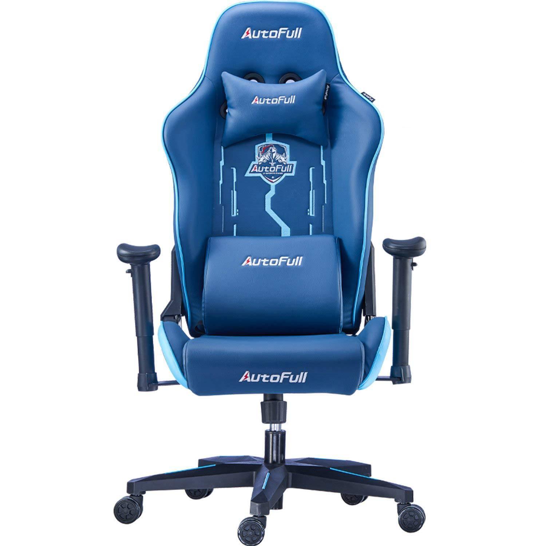 AutoFull Racing Gaming Chair AF078NPU, Indigo