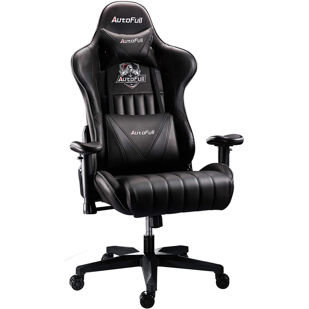 AutoFull Ergonomic Gaming Chair AF070DPU Standard(Black)
