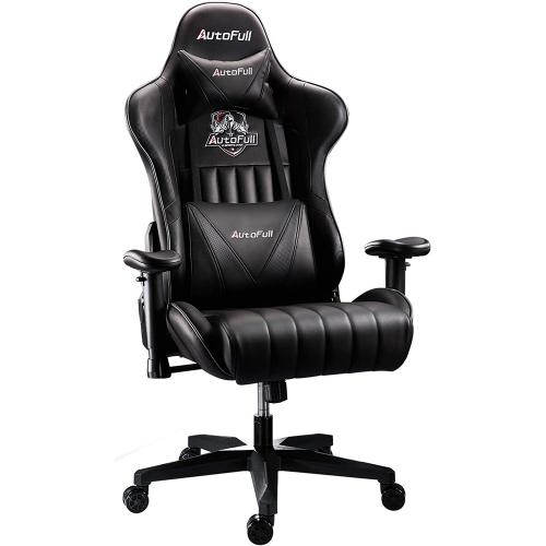 Official AutoFull Ergonomic Gaming Chair AF070DPU Standard(Black)