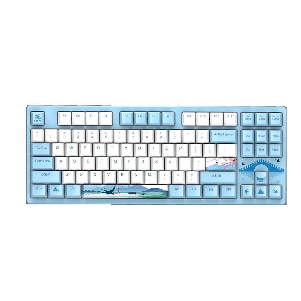 Dareu A87 Spring Swallow Theme Mechanical Gaming Keyboard