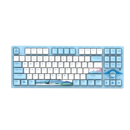 Official Dareu A87 Spring Swallow Theme Mechanical Gaming Keyboard