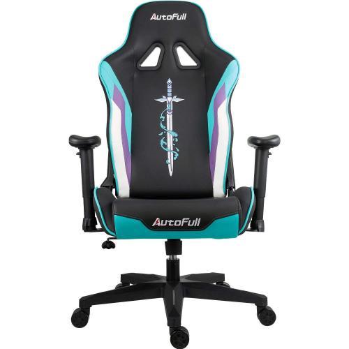 Official AutoFull Racing Gaming Chair AF076JPU,Cyan