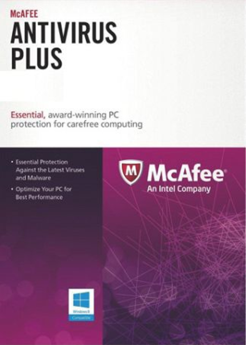 McAfee Antivirus Unlimited Devices 1 YEAR Global