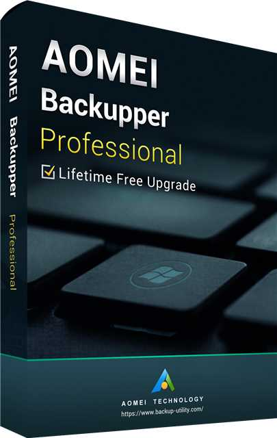 AOMEI Backupper Professional + Free Lifetime Upgrades 5.6 Key Global