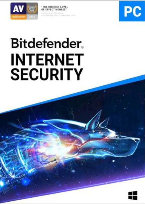 Bitdefender Internet Security 3 PC 2 Year Key Global