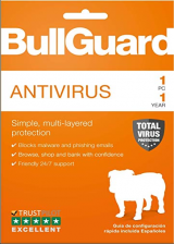 Official BullGuard Antivirus 1 PC 1 Year Key Global