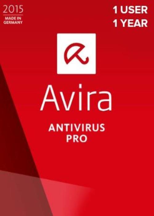Avira Antivirus Pro 1 PC 1 YEAR Global