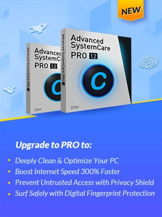 Advanced SystemCare 12 PRO 3 PCs 1 Year IObit Key Global