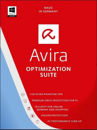 Avira Optimization Suite 3 PCs 1 Year Global