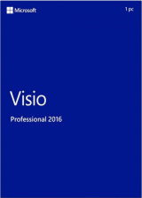 Official Visio Professional 2016 Key Global