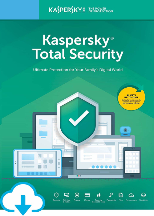 Kaspersky Total Security 2019 3 PC 18 Months Key North America