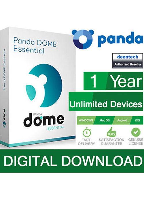 Panda Dome Essential Unlimited Devices 1 Year Global Key