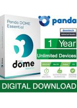 Official Panda Dome Essential Unlimited Devices 1 Year Global Key