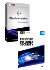 Official Bitdefender Internet Security + MiniTool ShadowMaker Pro Global Keys Pack