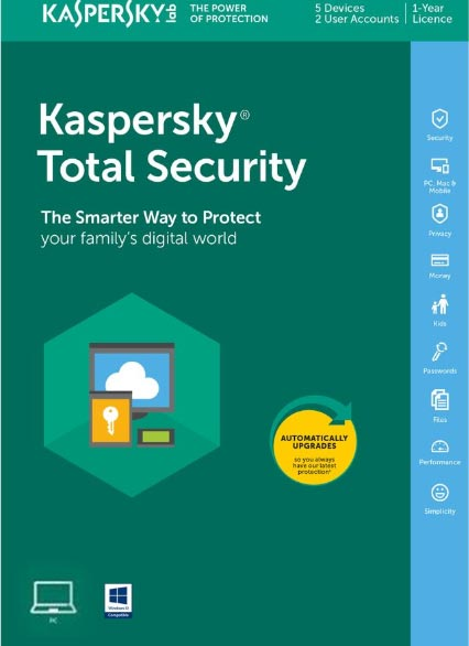 Kaspersky Total Security 2020 1 PC 1 Year Key North America
