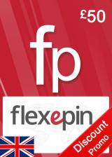 Official Flexepin Voucher Card 50 GBP