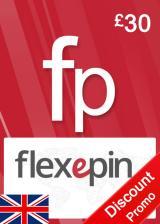 Official Flexepin Voucher Card 30 GBP