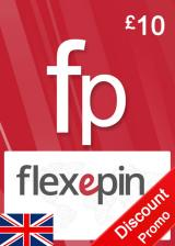 Official Flexepin Voucher Card 10 GBP