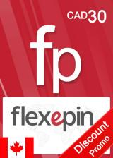 Official Flexepin Voucher Card 30 CAD