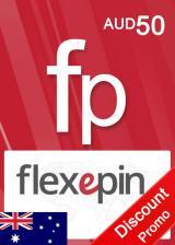Official Flexepin Voucher Card 50 AUD