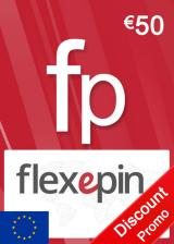 Official Flexepin Voucher Card 50 EUR