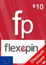 Official Flexepin Voucher Card 10 EUR