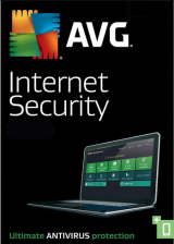 Official AVG Internet Security 1 PC 1 YEAR Global