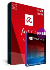 Official Avira Internet Security Suite 1 PC 1 YEAR Global(Windows 10 Enterprise LTSC 2019 CD Key free)