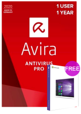 Official Avira Internet Security Suite 1 PC 1 YEAR Global(windows 10 pro oem free)