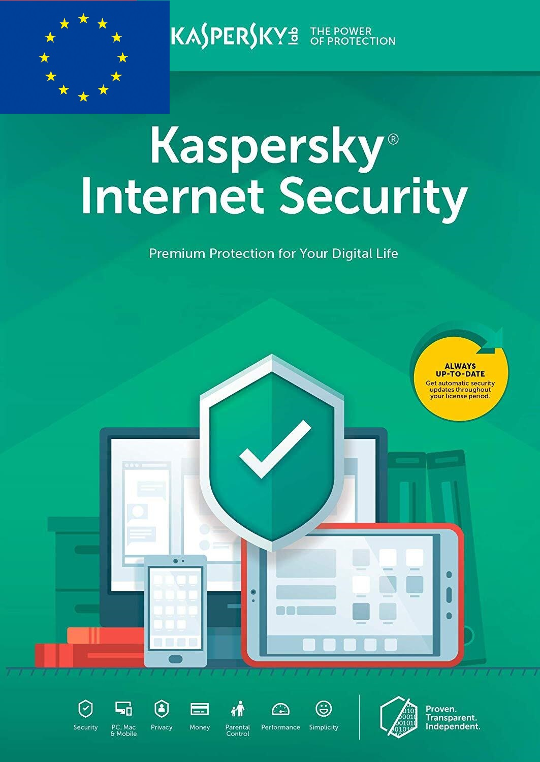 Kaspersky Internet Security 1 PC 1 YEAR EU