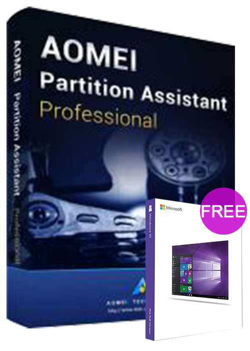 AOMEI Partition Assistant Professional 8.6 Edition Key Global(windows 10 pro oem free)