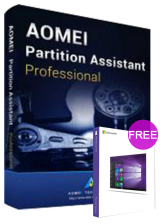 Official AOMEI Partition Assistant Professional 8.5 Edition Key Global(windows 10 pro oem free)