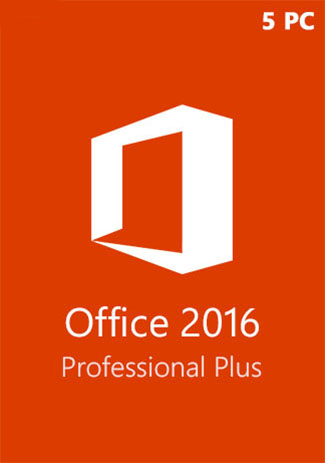 Microsoft Office 2016 Professional Plus CD Key Global (5 PC)