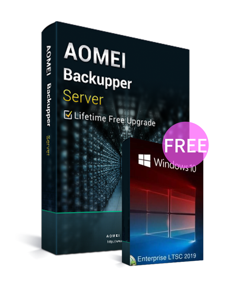 AOMEI Backupper Server Latest Version + Free Lifetime Upgrades Key Global(Windows 10 Enterprise LTSC 2019 CD Key free)