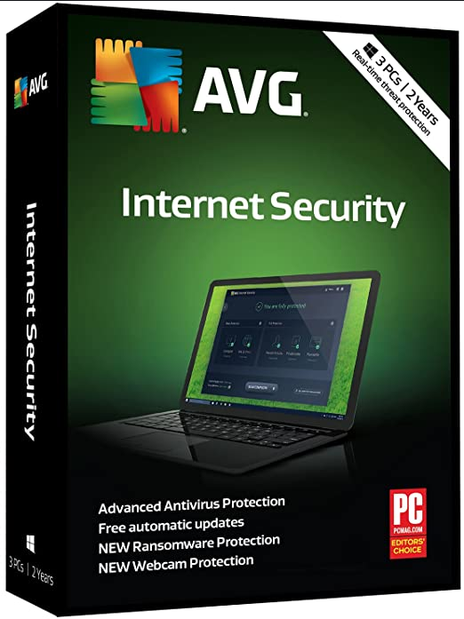 AVG Internet Security 3 PC 2 Year Global