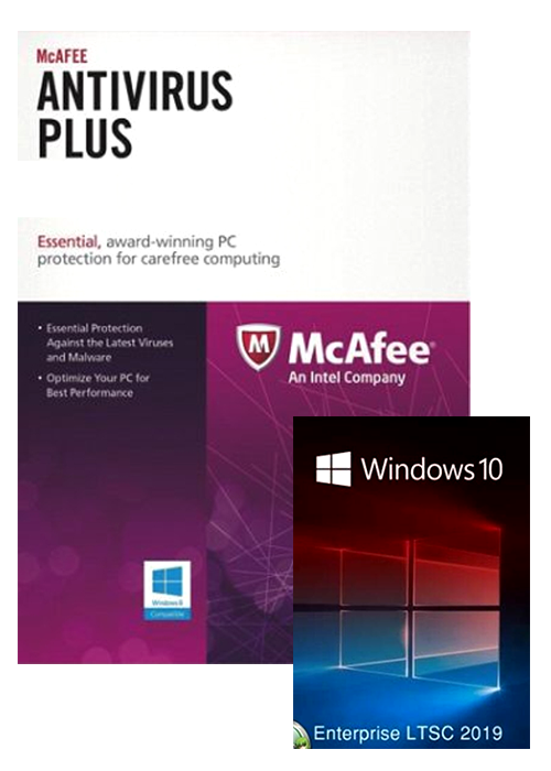 McAfee Antivirus 3 PC 1 YEAR Global(Windows 10 Enterprise LTSC 2019 CD Key free)