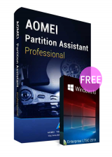 Official AOMEI Partition Assistant Professional 8.6 Edition Key Global(Windows 10 Enterprise LTSC 2019 CD Key free)