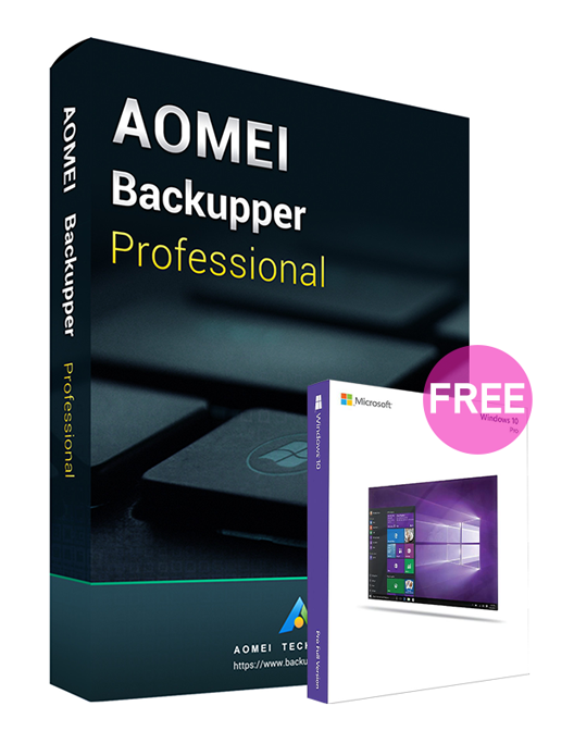AOMEI Backupper Professional 5.6 Edition Key Global(Windows 10 Pro OEM free)