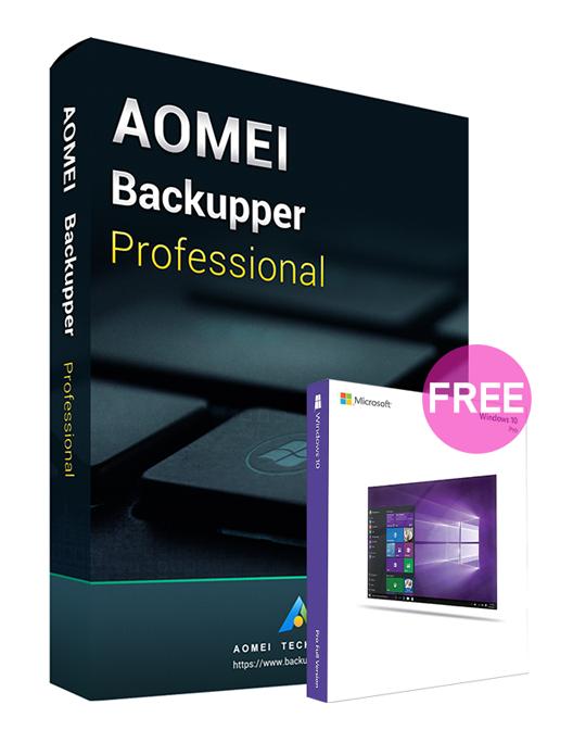 AOMEI Backupper Professional 5.3 Edition Key Global(Windows 10 Pro OEM free)