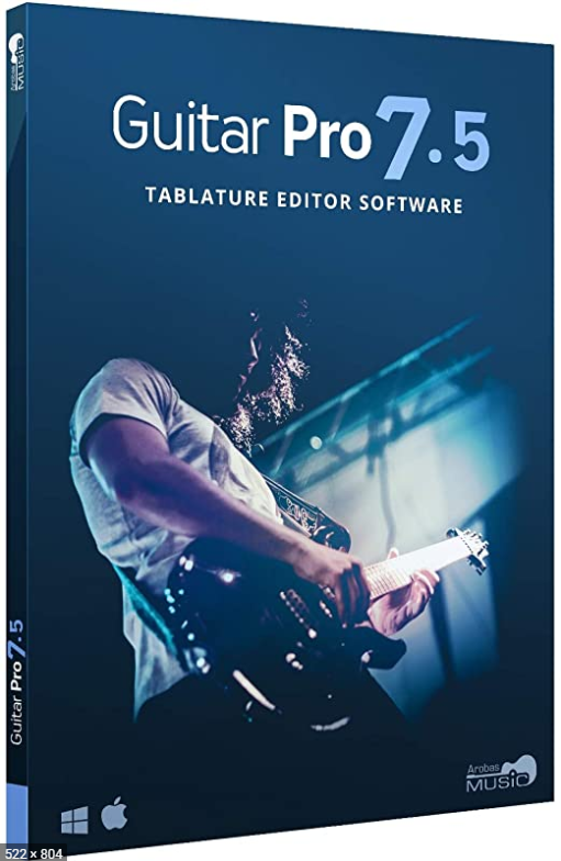 Arobas Music Guitar Pro 7/7.5 Software License CD Key