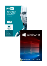 Official ESET Internet Security 1 Device 1 Year + Windows 10 Enterprise LTSC 2019 CD Key Pack