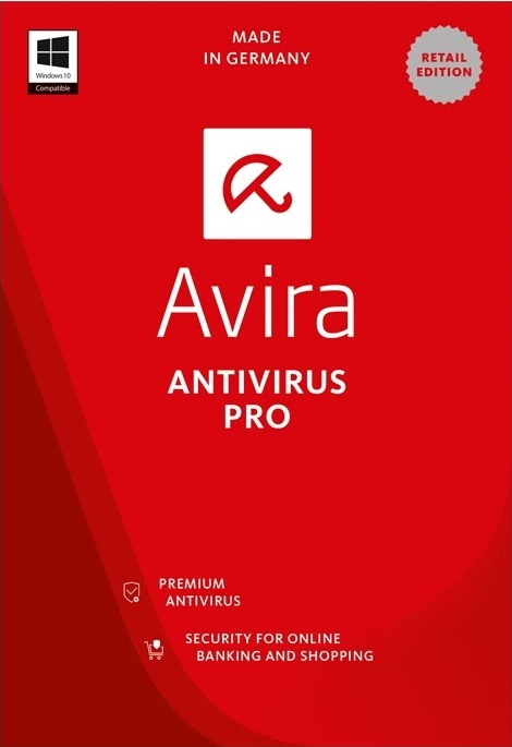 Avira Antivirus Pro 3 PC 1 YEAR Global