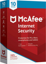 bzfuture.com, McAfee Internet Security 10 Devices 1 YEAR Global