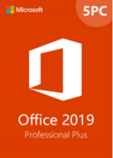 bzfuture.com, Office2019 Professional Plus CD Key Global(5PC)