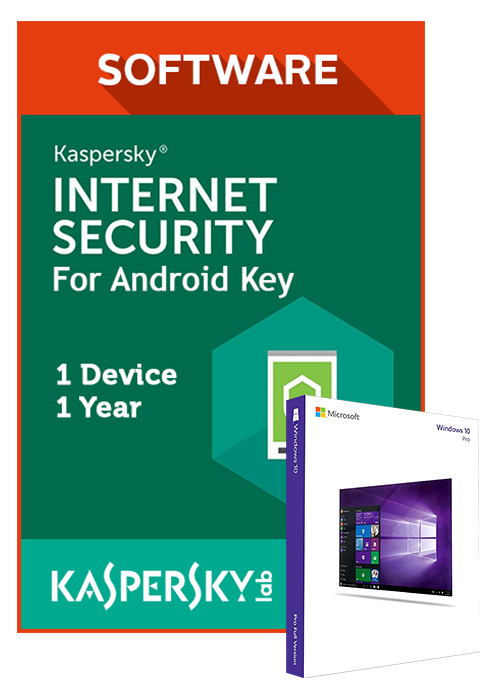 Kaspersky Internet Security 1 Device 1 Year For Android Key GLOBAL(Windows 10 Pro OEM free)